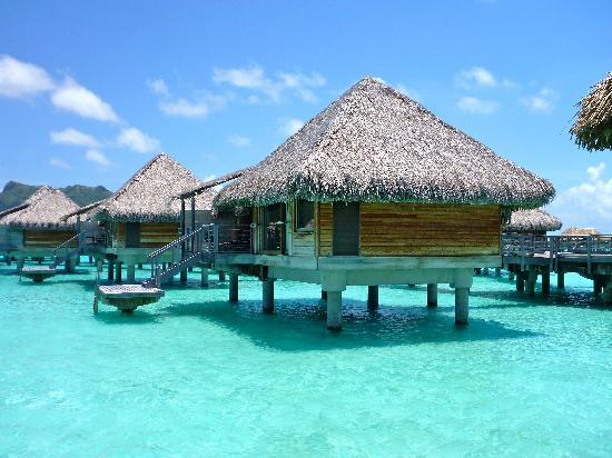 InterContinental Bora Bora Resort & Thalasso Spa: over water bungalows