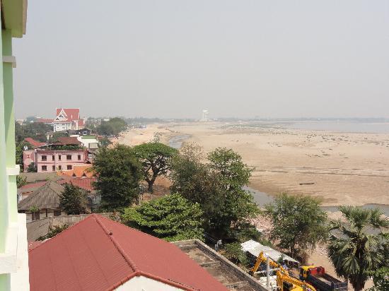 Vansana Riverside Hotel: 部屋からの眺め