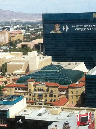 The Mansion at MGM Grand: from 30th floor of NYNY hotel