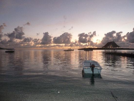 Preskil Beach Resort: sunrise at 6 am