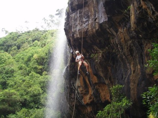 Curepipe : 45m Abseil in the dry