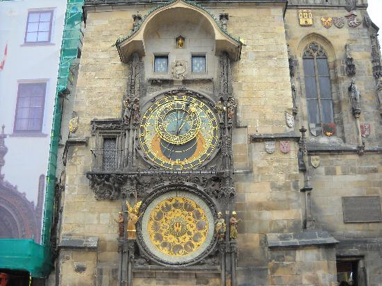 Prague, Czech Republic: The clock
