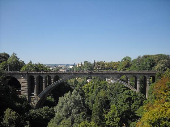 Luxembourg City, Luxembourg: The bridge