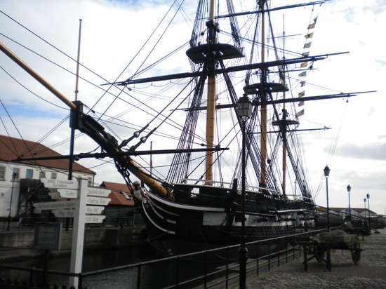 The HMS Tincomalee