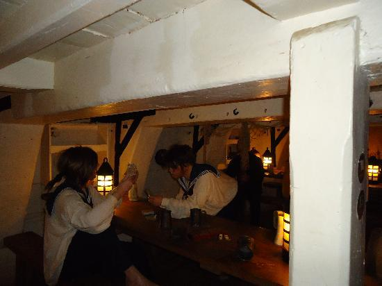 Hartlepool, UK: Below Deck