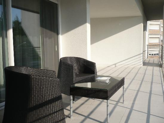 Lungotevere Suite: terrasse