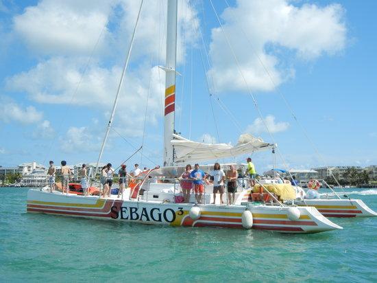 Sebago Key West : Our boat