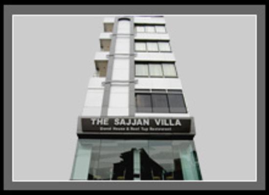 Hotel The Sajjan Villa: front view