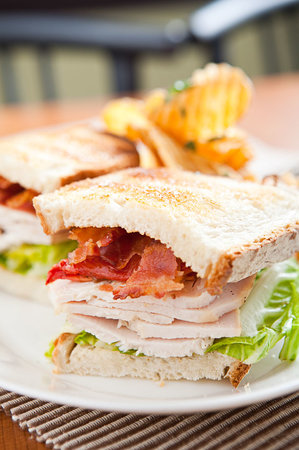 Philly Grille: TURKEY BLT