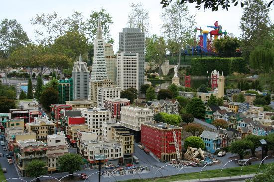 LEGOLAND California: miniland