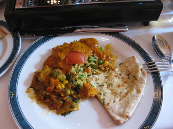 Delhi Brasserie - Soho: Our meal