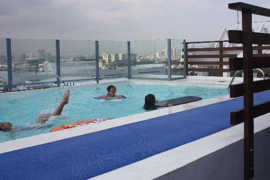 Pool Picture Of Microtel Inn Suites By Wyndham Manila