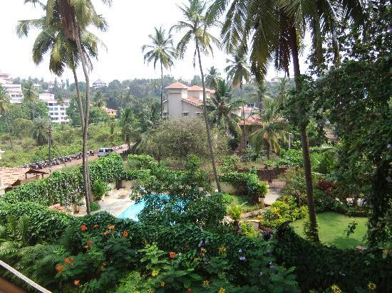Sandalwood Hotel & Retreat: View from room 3202