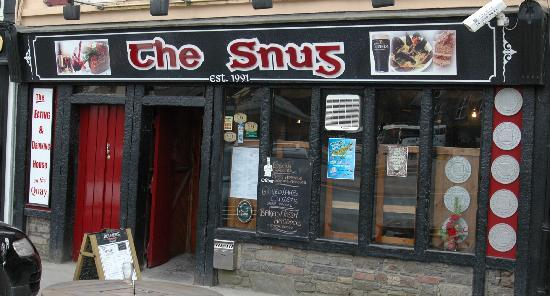 The Snug: Außenansicht