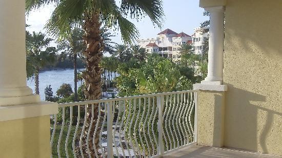 Yacht Harbor Village at Hammock Beach: Our balcony