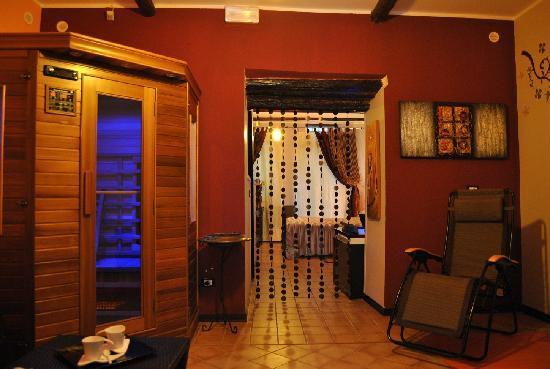 B&B Etna Taormina: Relax room Matrimoniale con Sauna e Jaucuzzi in Camera