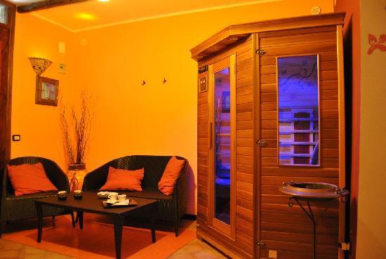 B&B Etna Taormina: Relax romm Matrimoniale con Sauna e Jaucuzzi