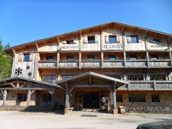 h tel vu de jour photo de chalet hotel le collet