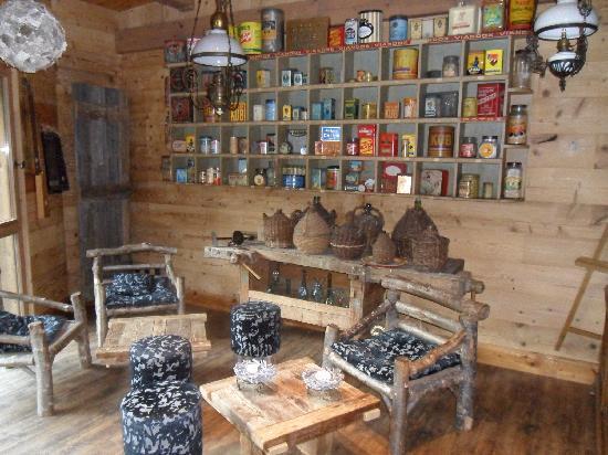 Xonrupt-Longemer, Frankrike: le petit salon de lecture