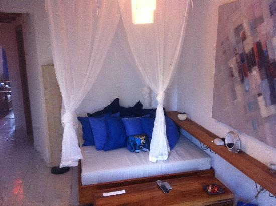 La Masía de Formentera: Entrada a la Habitacion
