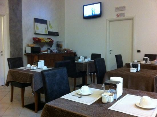 Hotel Brenta Milano: petit dej