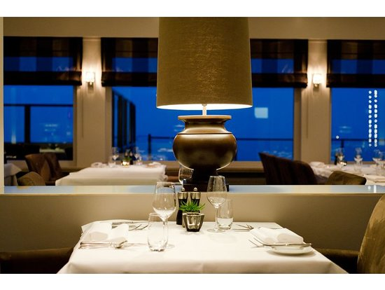 Hotel de Blanke Top: Le Sommet restaurant