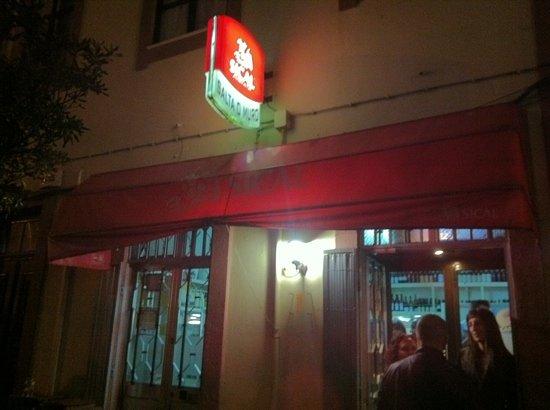 Restaurante Salta o Muro: por fuera