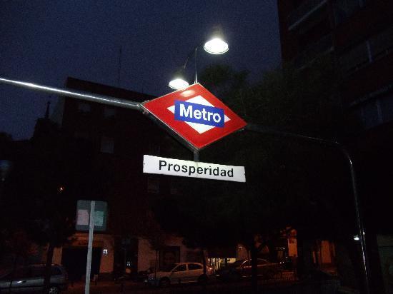 Sercotel Togumar: entrance to the station Prosperidad
