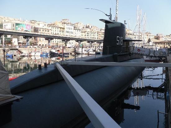 Galata Museo del Mare: sottomarino Nazario Sauro