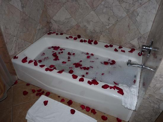 Solvang Gardens : Creating a nice bath...