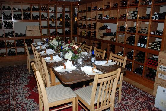 The Inn at Weathersfield: Wine Cellar