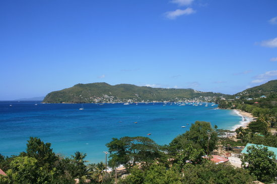 Lower Bay, Bequia: The view from The Sweet Retreat