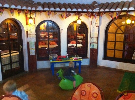 La Ternera loca: the 'kids area' at the restaurant