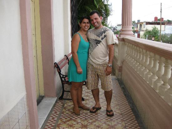 Casa Mayor: our hosts, David and Juniette