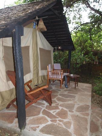 Sarova Mara Game Camp: our nook