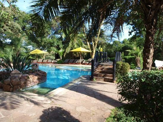 Sarova Mara Game Camp: the pool area