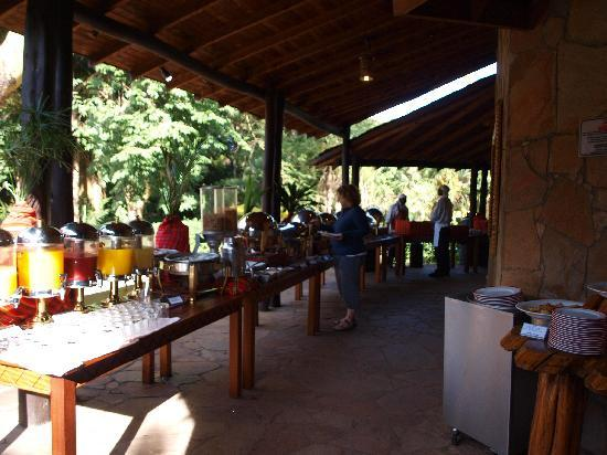 Sarova Mara Game Camp: the buffet