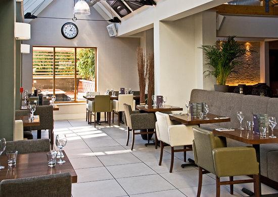 The Riverbank Bar & Kitchen: The restaurant
