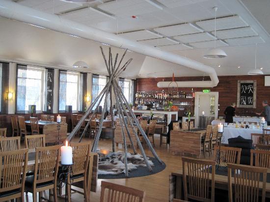 Hotel Arctic Eden: Restaurant