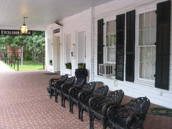 The Excelsior House: front porch