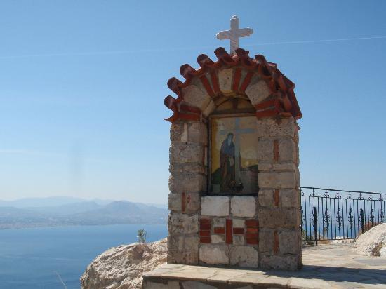 Loutraki, Hellas: at the monastery Saint Gerasimos