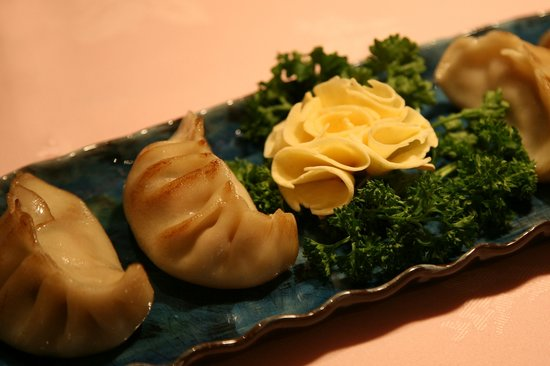 Michael Wan's Mandarin Cantonese Restaurant: Mrs Wan's pot sticker