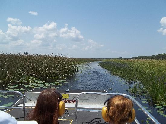 Cypress Lake Airboat Tours