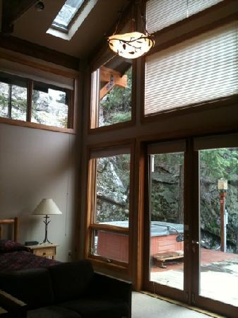 Castle Mountain Lodge: Great room