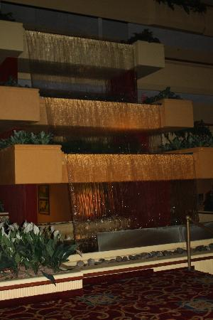 Holiday Inn Beaumont Plaza: Waterfall