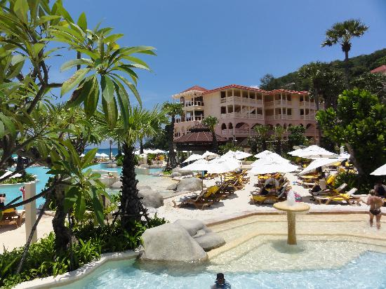 pool area picture of centara grand beach resort phuket. Black Bedroom Furniture Sets. Home Design Ideas