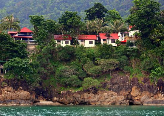 TOP Resort : Ansicht vom Meer aus