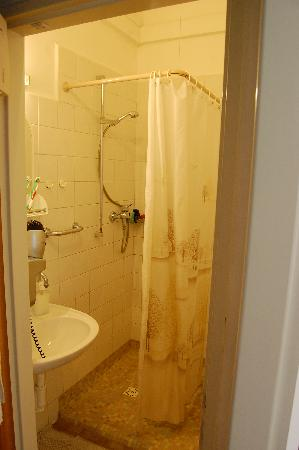 Hotel & Residence Royal Standard: En suite shower