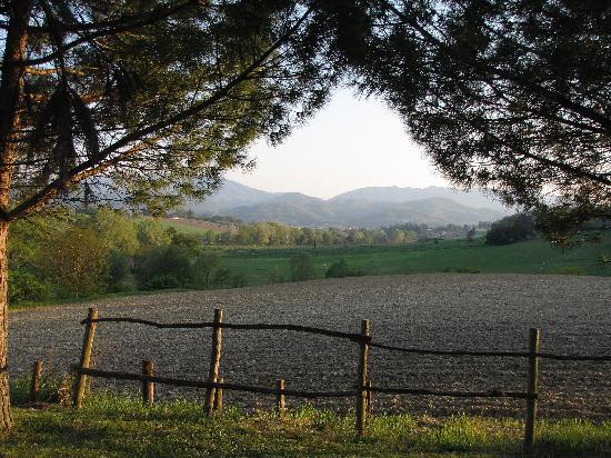 "Agriturismo ""La Topaia"": La vue depuis la Topaia"