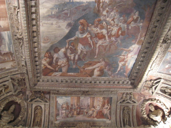 Palazzo Imperiale : Ceiling